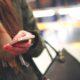 woman hand phone
